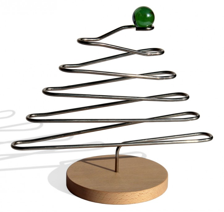 christmas tree rolling ball system